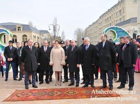 Abşeronda Novruz bayramı böyük izdihamla qeyd olundu-FOTOLAR-VIDEO