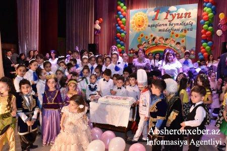 Abşeronda 1 İyun – Uşaqları Beynəlxalq Müdafiə Günü qeyd olundu