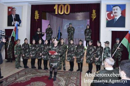 Abşeronda Mehdi Hüseynzadənin anadan olmasının 100 illiyi qeyd edildi
