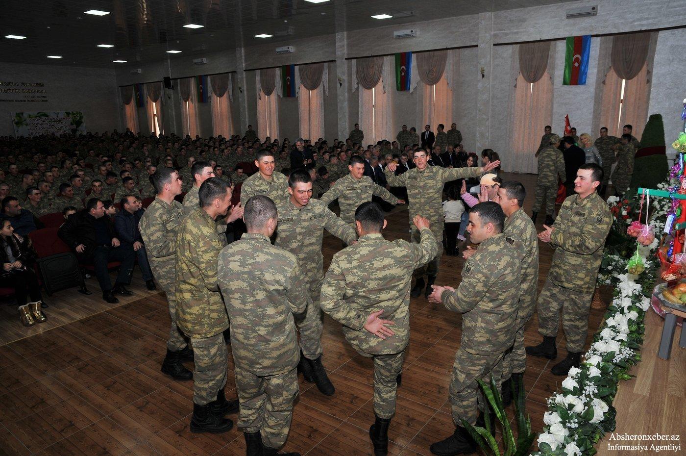 Abşeron RİH-i hərbi hissədə Novruz şənliyi keçirdi